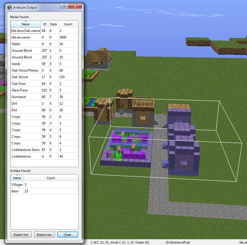 MCEdit - World Editor for Minecraft
